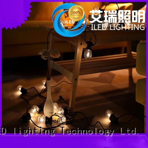 ILED led cafe string lights design for outdoor