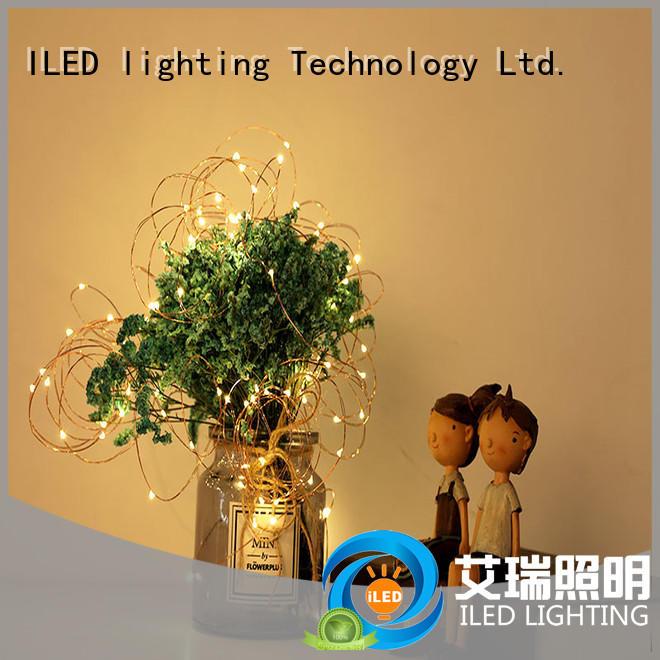 indoor waterproof strip copper battery lights ILED manufacture