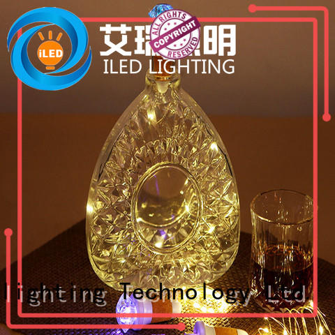 ILED copper wire fairy lights manufacturer for wedding