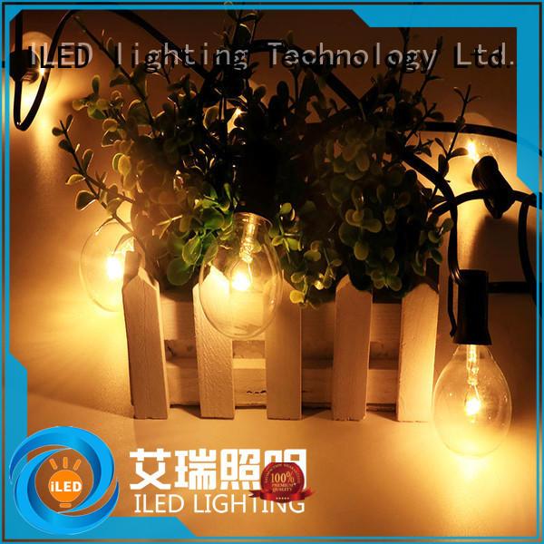 ILED festoon led cafe string lights lamp for wedding