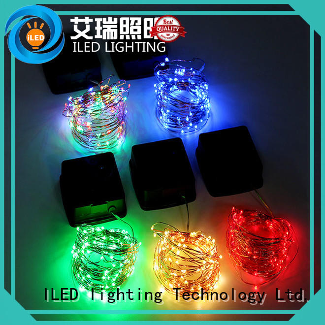 warm solar copper string lights series for household