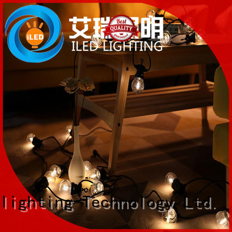 festoon commercial led string lights manufacturer for patio