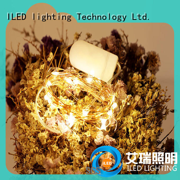 ILED battery wire lights customized for indoor