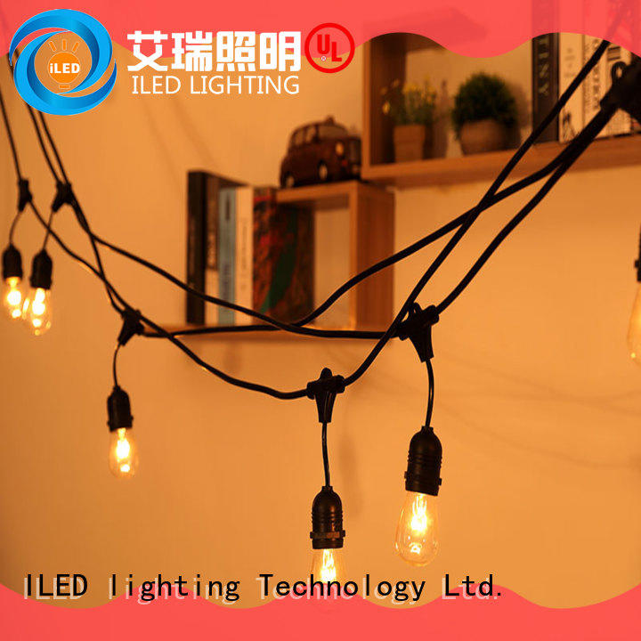 ILED hanging backyard string lights supplier for party