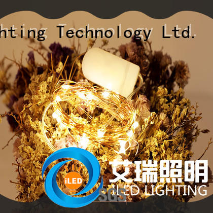 ILED battery powered fairy lights manufacturer for wedding