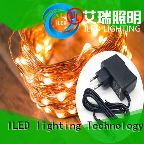 white plug in wire fairy lights supplier for bedroom