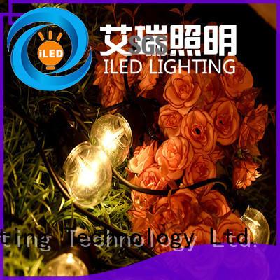ILED led cafe string lights design for indoor