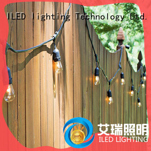 ILED waterproof party string lights manufacturer for wedding