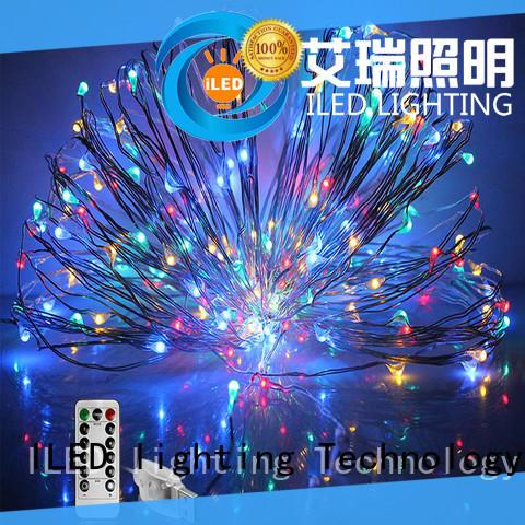 10m led copper string lights design for wedding