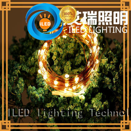 string copper wire lights battery operated strings for indoor ILED