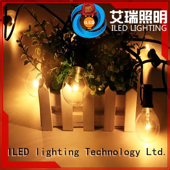 output festoon lights wedding bulbs for patio ILED