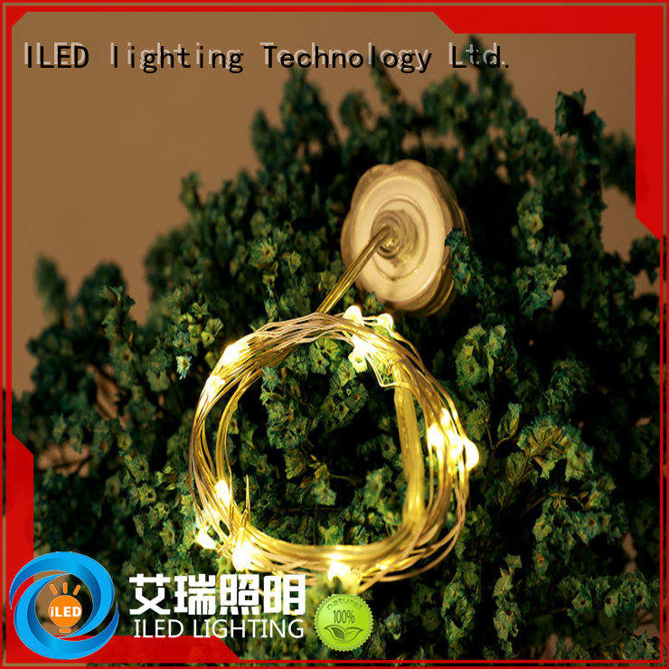 ILED battery wire lights manufacturer for Christmas