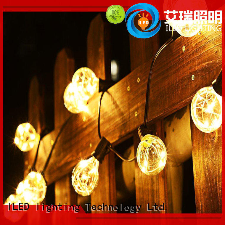 ILED warm commercial led string lights lamp for indoor