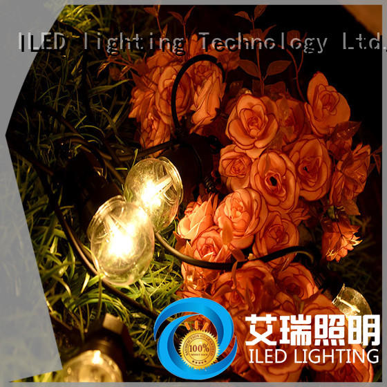 output led party string lights low voltage for wedding ILED