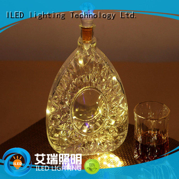 bottle usb copper wire lights control ILED company