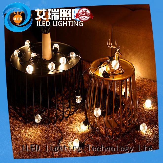 ILED white coloured festoon lights design for indoor