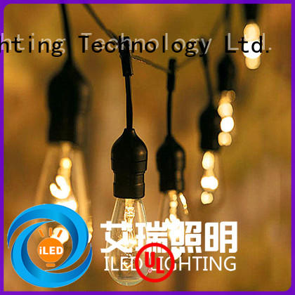 ILED commercial light bulb string lights 110v for party