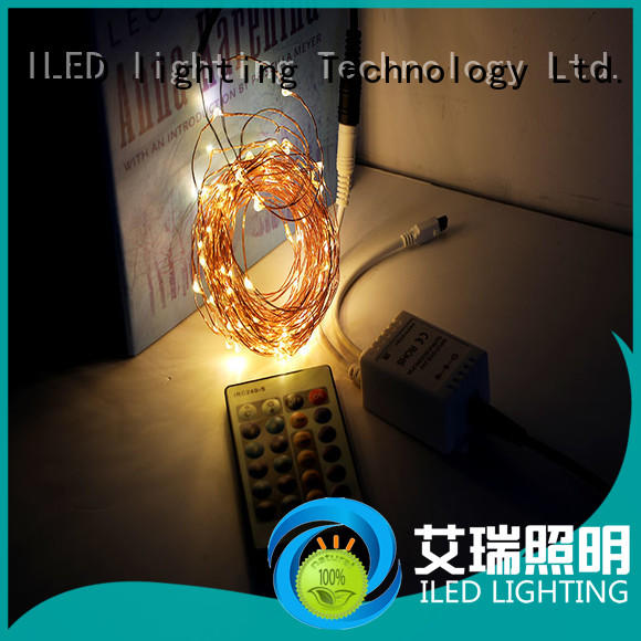 ILED operated plug in fairy lights lamp for party
