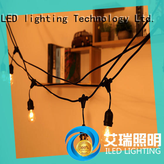ILED party string lights supplier for garden