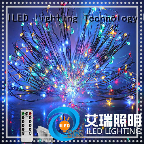 ILED usb copper wire lights 100leds