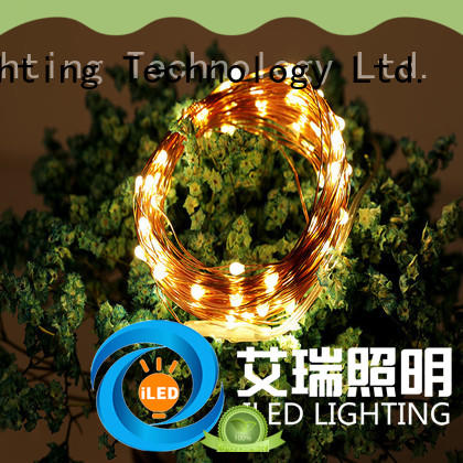 ILED battery christmas lights supplier for party