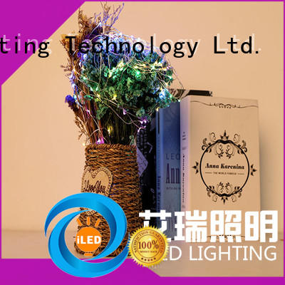 ILED powered battery wire lights lamp for decoration