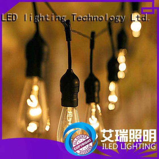 ILED waterproof plug in festoon lights supplier for party