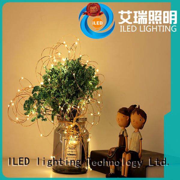 ILED starry battery operated fairy lights lamp for Christmas