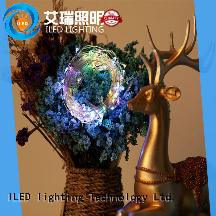 10m copper wire christmas lights design for decoration