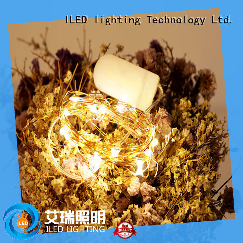 waterproof battery led string lights customized for party