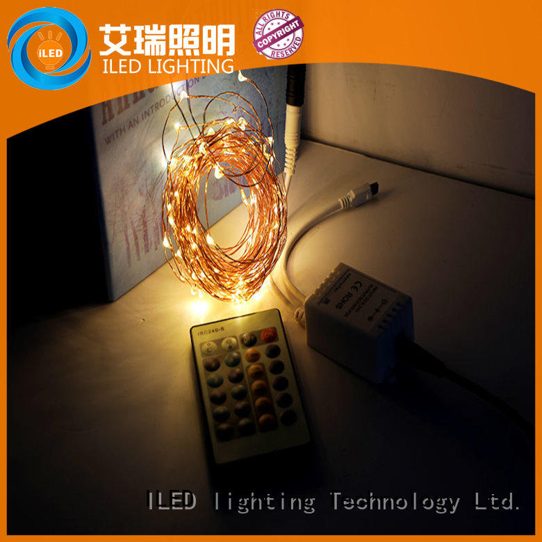 ILED dimmable plug in led fairy lights personalized