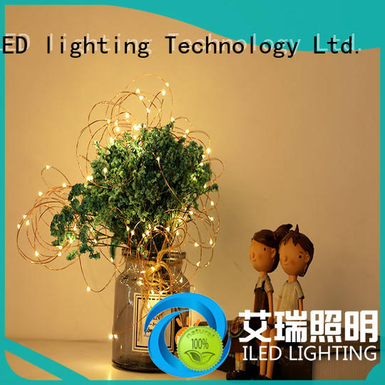 ILED remote battery string light supplier for wedding