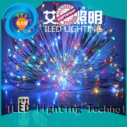 ILED copper wire fairy lights supplier for decoration