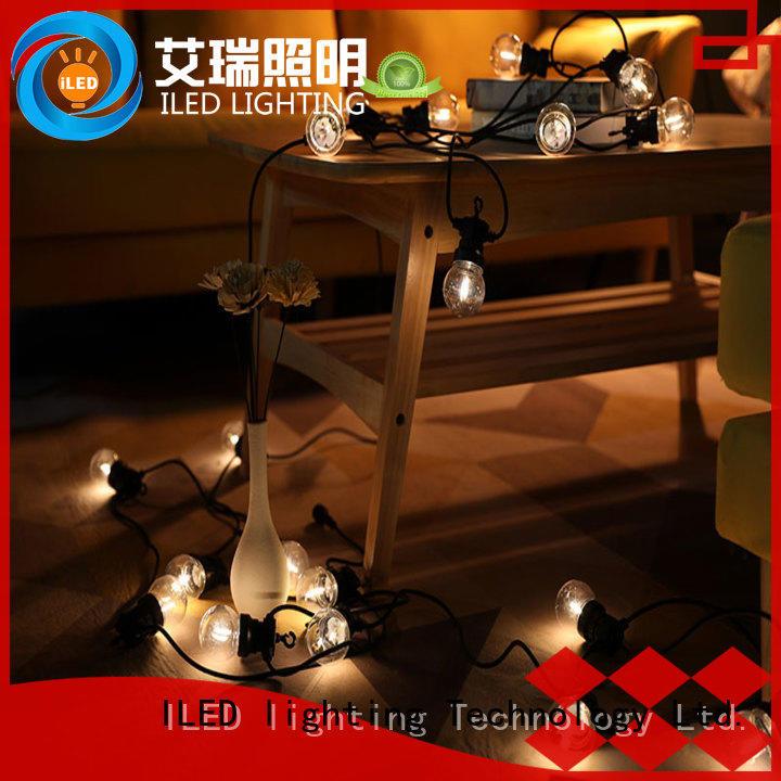ILED festoon commercial festoon lighting output for indoor