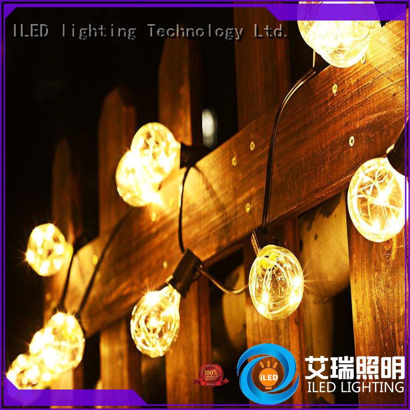 ILED festoon commercial string lights lamp for outdoor
