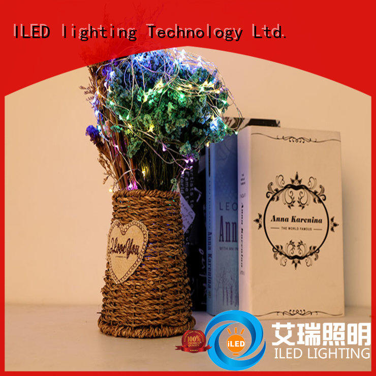 ILED battery string light manufacturer for party