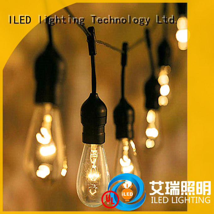 ILED 144m plug in string light lamp for party