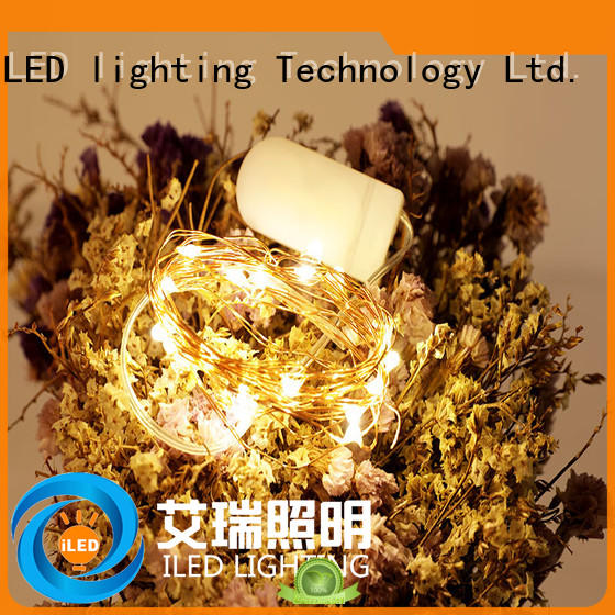 ILED battery operated outdoor christmas lights lamp for decoration