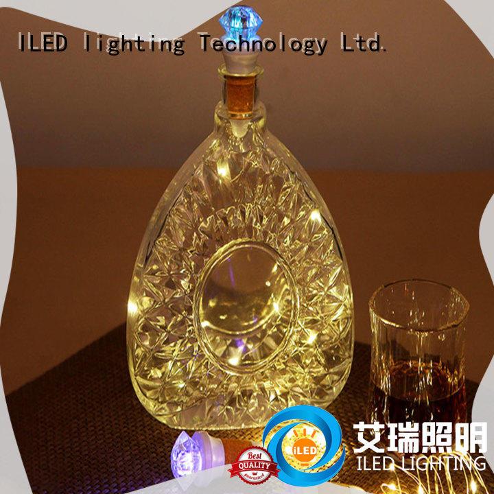 led copper string lights supplier for decoration ILED