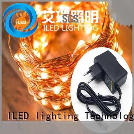 ILED fairy lights adaptor plug personalized for weddings
