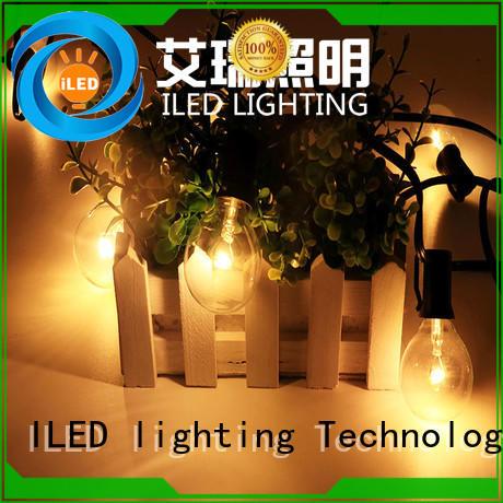 decoration led cafe string lights festoon ILED