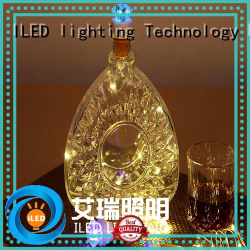 ILED environmental copper wire christmas lights series for christmas