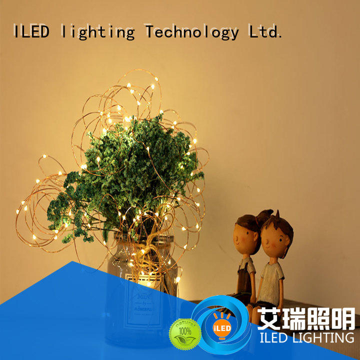 ILED remote battery operated fairy lights lamp for Christmas