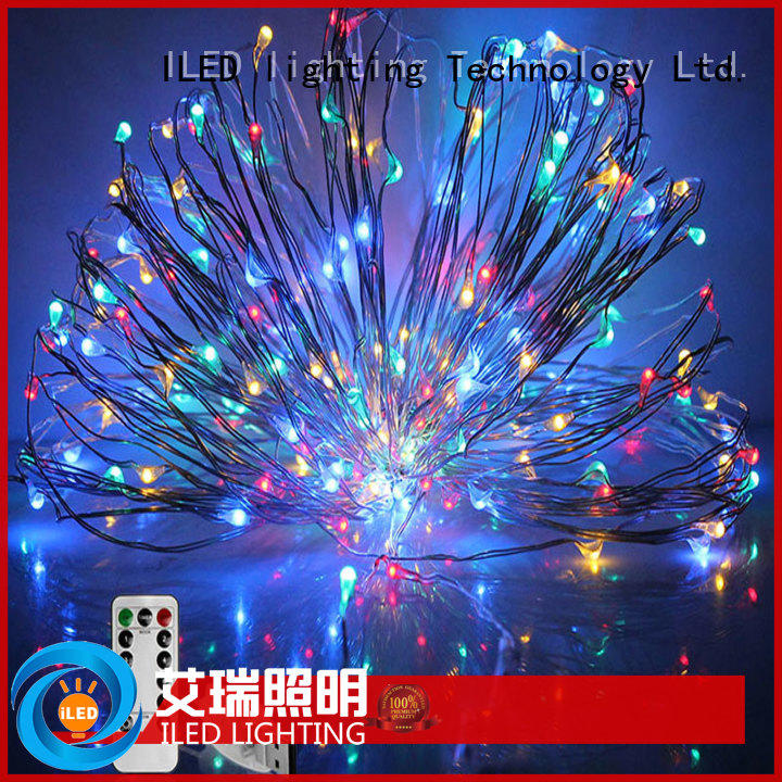remote led wire string lights design for christmas