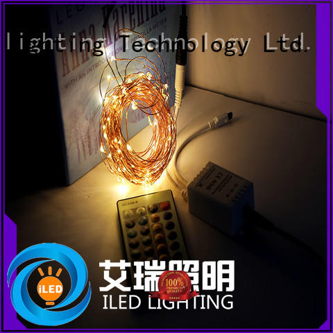 remote plug in wire fairy lights manufacturer for household