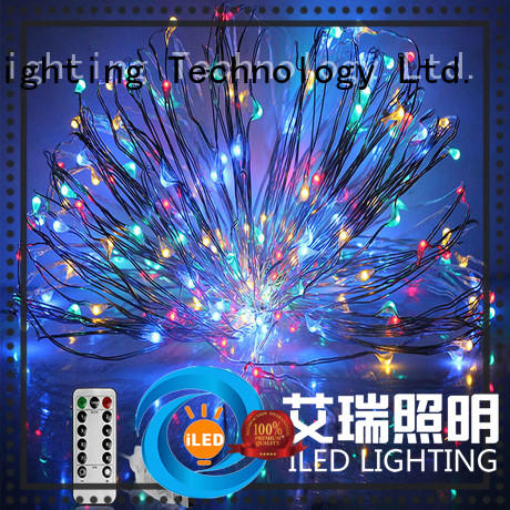 ILED usb copper wire lights manufacturer for party