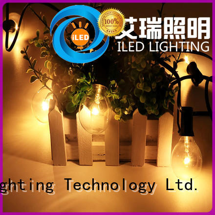 ILED led cafe string lights design for outdoor