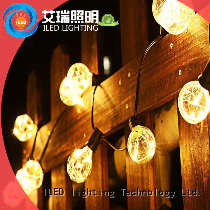 ILED standard festoon lights wedding design for outdoor