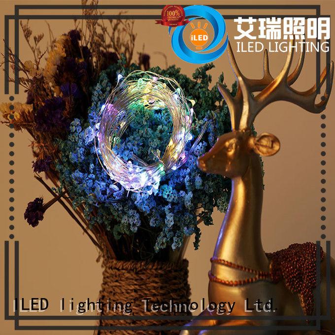 novel copper christmas lights design for decoration