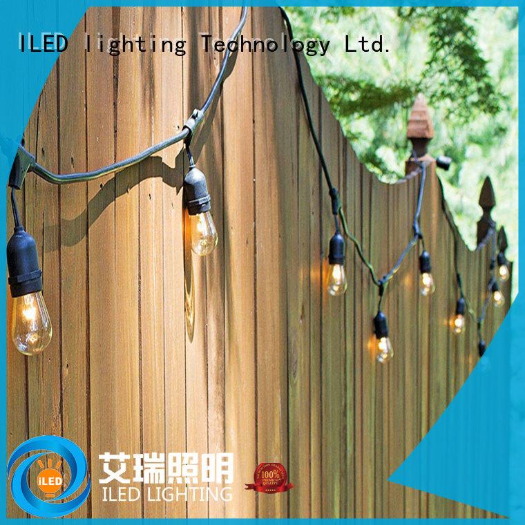 ILED 144m festoon garden party lights lamp for outdoor